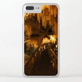 Bermuda Crystal Caves Clear iPhone Case