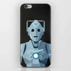 Nightmare in Silver (Cyberman) iPhone & iPod Skin