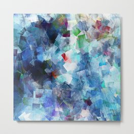 Symphony in blue Metal Print