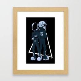 DOIN IT RIGHT Framed Art Print