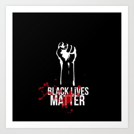 Black Lives Matter Art Print