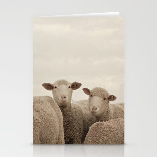 Smiling Sheep  Stationery Cards