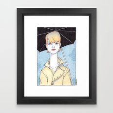 At Your Door Framed Art Print