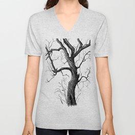 Old tree Unisex V-Neck