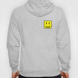 SQUARE SMILEY FACE CLASSIC YELLOW W/ BLACK Hoody