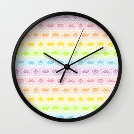 Pixel Invaders Wall Clock