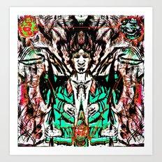 Cosmic Exposure Art Print