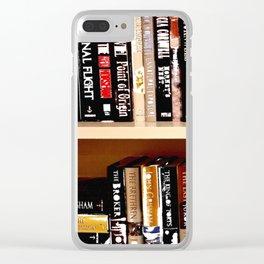 Books3 Clear iPhone Case