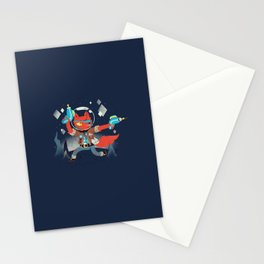 Bounty Hunter Space Cat Killa Stationery Cards