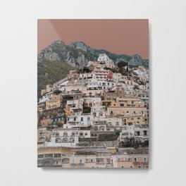 Positano Vista II Metal Print