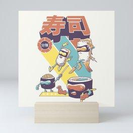 Sushi Sentai Mini Art Print