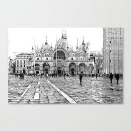 Basilica of Saint Mark Canvas Print
