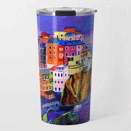 Manarola Cinque Terre Travel Mug