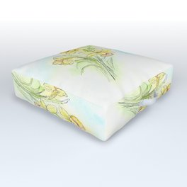 Yearning for Spring Outdoor Floor Cushion