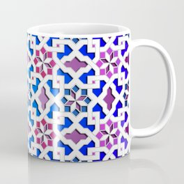 Beautiful oriental flower pattern 9 Coffee Mug