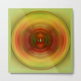 The Spinning Wheel. Metal Print