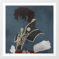 fire emblem awakening Art Prints featuring Lon'qu / Lonqu Fire Emblem Awakening by MKwon