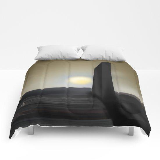 Martian Ancient Alien Artifact Comforters