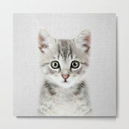 Kitten - Colorful Metal Print