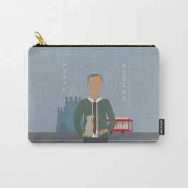 Mr. Rogers Icon Carry-All Pouch