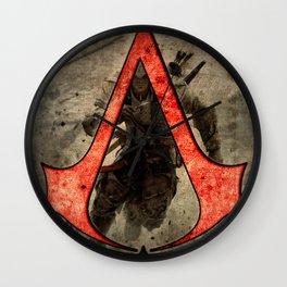 Assassin cr logo Wall Clock