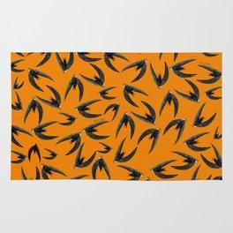 Totem swift orange-yellow (GREFA) Rug