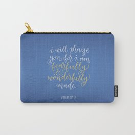 Psalm 139:14 Carry-All Pouch