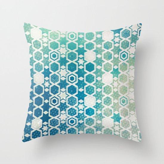 Stars Pattern #003 Throw Pillow
