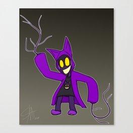 GhostKat (Sanctum OCT) Canvas Print