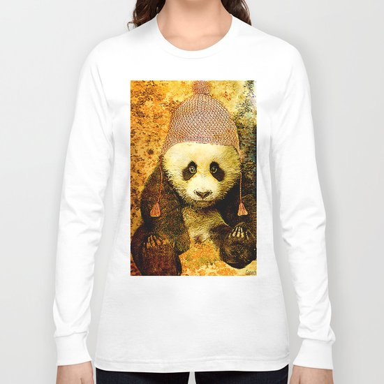 baby Panda Long Sleeve T-shirt
