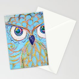 Owl - Colour Me Happy Stationery Cards