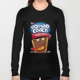 PoptartCoach 'Poptart Box' Long Sleeve T-shirt