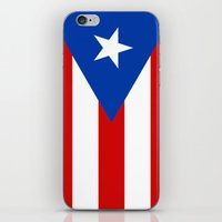 puerto rico iPhone & iPod Skins featuring Puerto Rico by McGrathDesigns