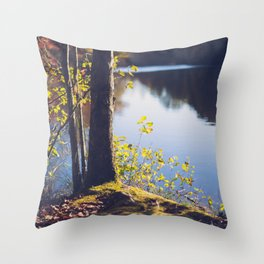Solitude Lake Throw Pillow