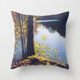 Solitude Lake Throw Pillow