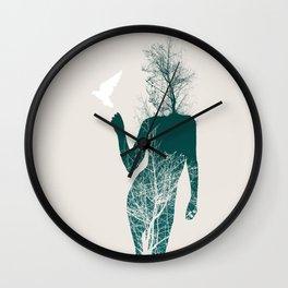 Bliss of Solitude Wall Clock