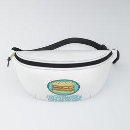 BBQ, barbecue, beef, buns, burger, cheese, cheeseburger, dinner, fast food, food, grill, hamburger,  Fanny Pack
