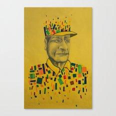 DESFRAGMENTACIÓN Canvas Print