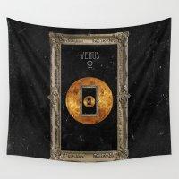 venus Wall Tapestries featuring Venus by Raven haylin