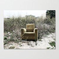 sofa Canvas Prints featuring Sofa by Mario Sa