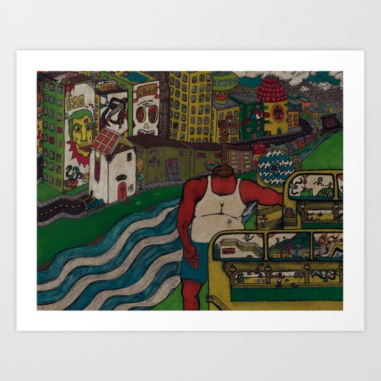 City of Angels Art Print