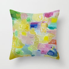 Abstract 55 Throw Pillow