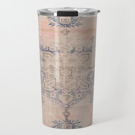 Antique beige and blue carpet Travel Mug