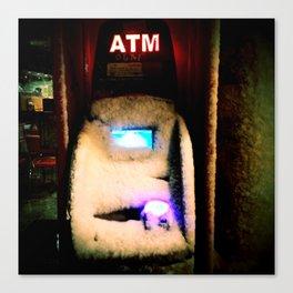 ATM Gangster Canvas Print
