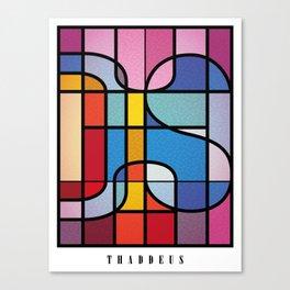 Apostles - Thaddeus Canvas Print