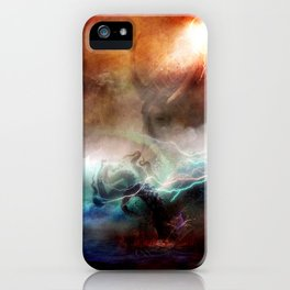 Canto 5-Minos By SG Schroeder iPhone Case