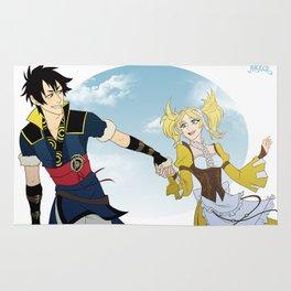 Lon'Qu and Lissa Rug
