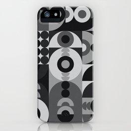 Geometry Games V / Black Palette iPhone Case