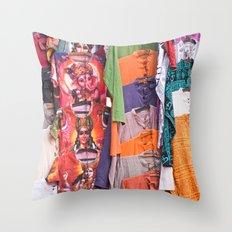 India New Delhi Paharganj 5578 Throw Pillow