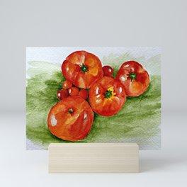 Garden Tomatoes Mini Art Print